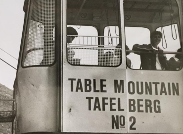 History of the cable way at the Table Mountain